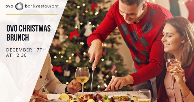 Dine For Free At OVO Bar & Restaurant's Christmas Sunday Brunch!