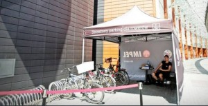 Pasaz Grunwaldski Open Secured Bike Parking