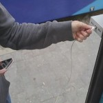 Phone Chargers Installed At Tram Stops