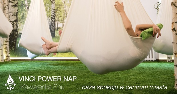 Wrocław's 'Power Nap' Cafe Now Open